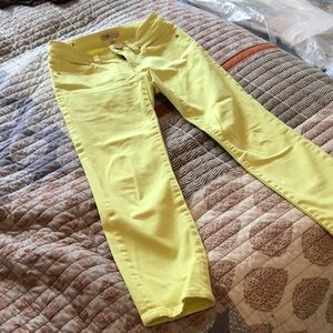 Yellow Ankle Jean